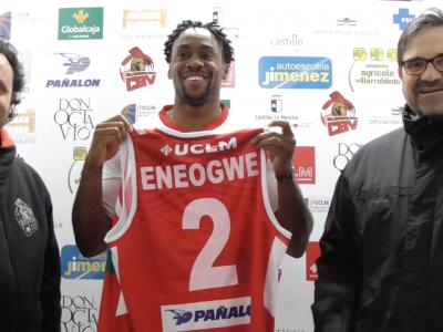 El CBV anuncia el fichaje de Godson Eneogwe