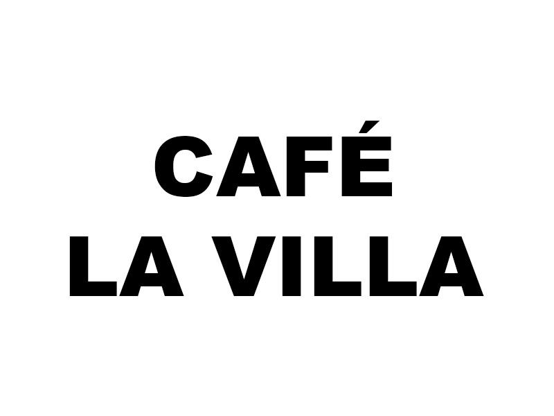 Logo Café La Villa