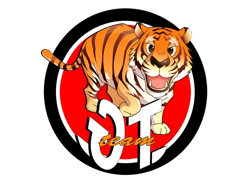 Logo Gimnasio Tiger