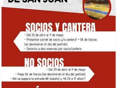 Acompaña al CBV a Alcázar de San Juan