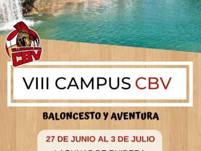 Inscripciones para el VIII Campus CBV