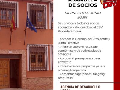 El CB Villarrobledo convoca una asamblea para socios, abonados y aficionados