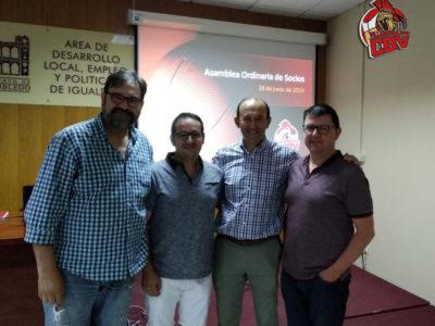 El CB Villarrobledo renueva su confianza en la actual Junta Directiva