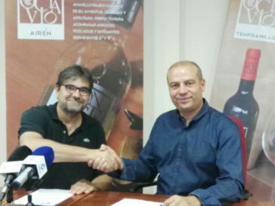 Firmado el acuerdo de colaboración con Vinícola Villarrobledo