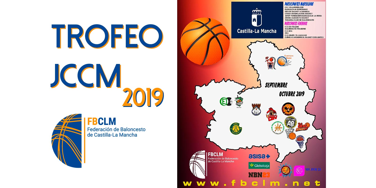 Villarrobledo acogerá este fin de semana la 'Final Four' del Trofeo de la JCCM