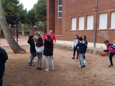 Deporte e inglés con el CBV en el IES Octavio Cuartero