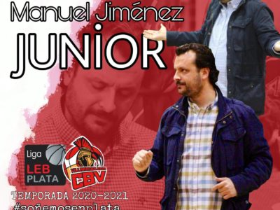 """El C.B. Villarrobledo y Manuel Jiménez """"Junior"""" una temporada más."""
